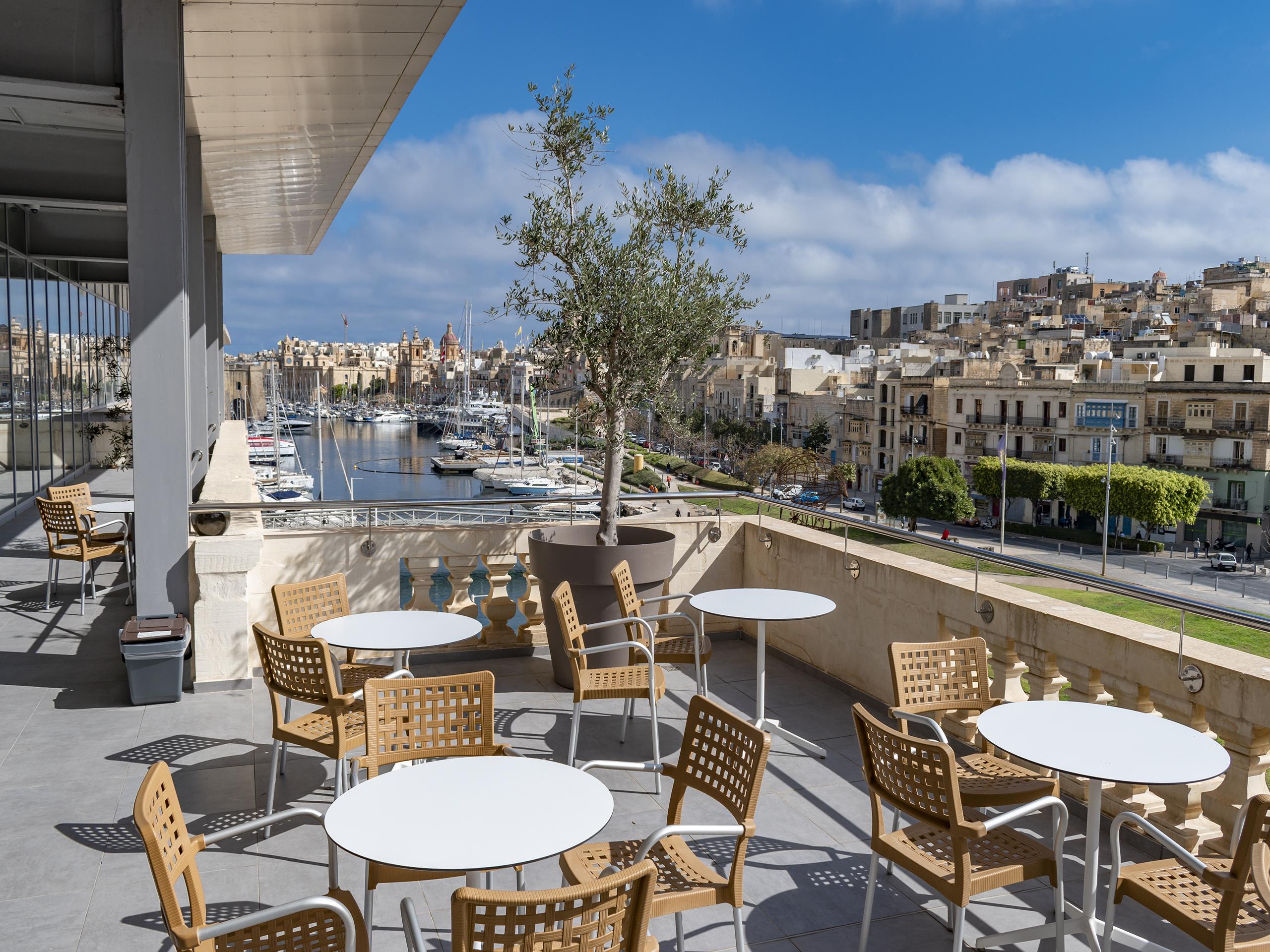 Outside Terrace American University of Malta AUM